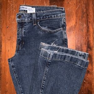 GAP Long & Lean Stretch Boot Cut Jeans Size 12R